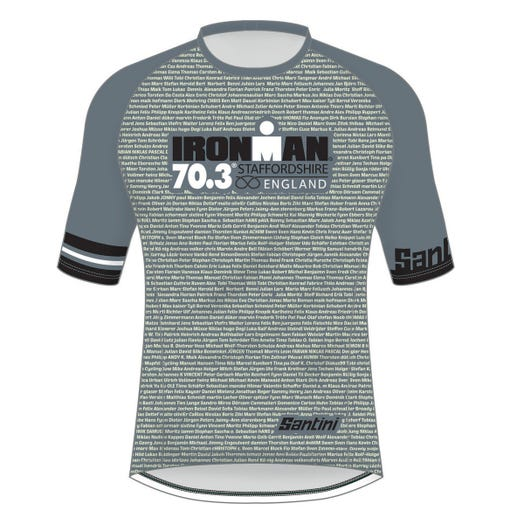 IRONMAN 70.3 STAFFORDSHIRE 2019 MEN'S NAME PERFORMANCE TEE