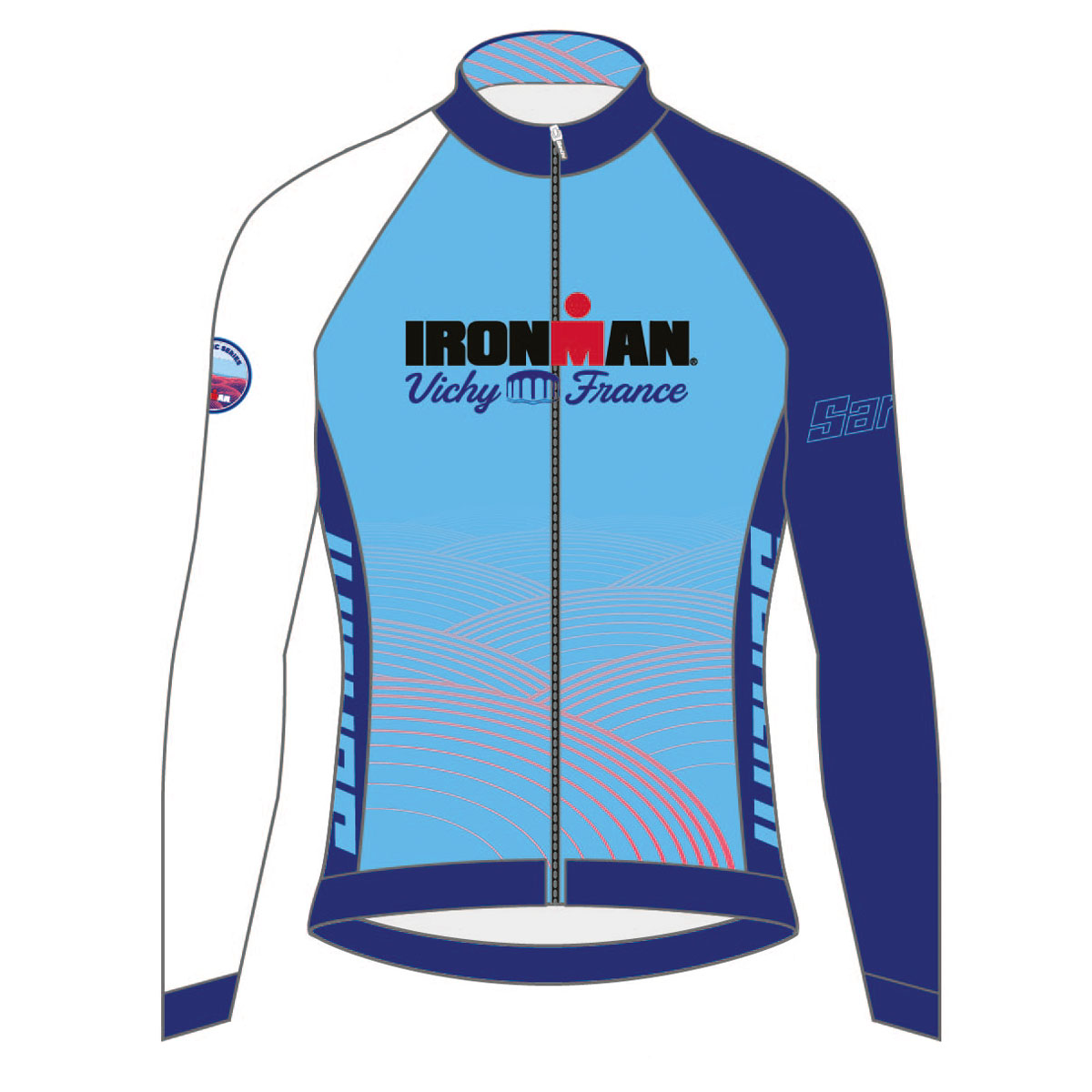 IRONMAN VICHY 2019 WOMEN'S FINISHER COURSE CYCLE JERSEY