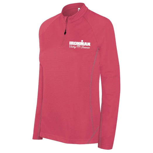 IRONMAN VICHY WOMEN'S HALF ZIP