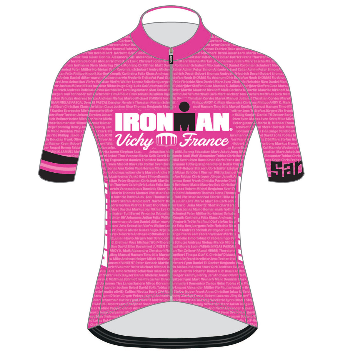 IRONMAN VICHY 2019 WOMEN'S NAME CYCLE JERSEY