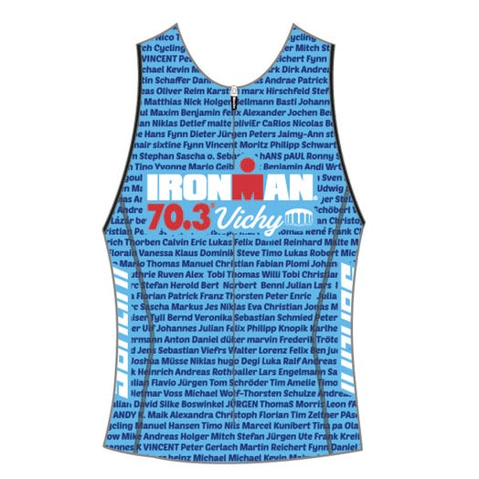 IRONMAN 70.3 VICHY 2019 WOMEN'S NAME TRI TOP