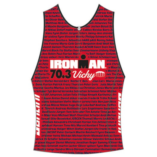 IRONMAN 70.3 VICHY 2019 MEN'S NAME TRI TOP