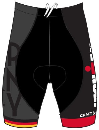 IRONMAN Women's Team Germany Cycle Shorts