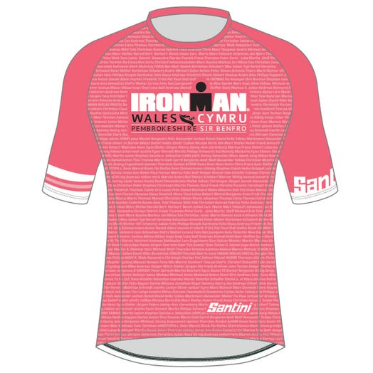 IRONMAN WALES 2019 WOMEN'S PERFORMANCE NAME TEE