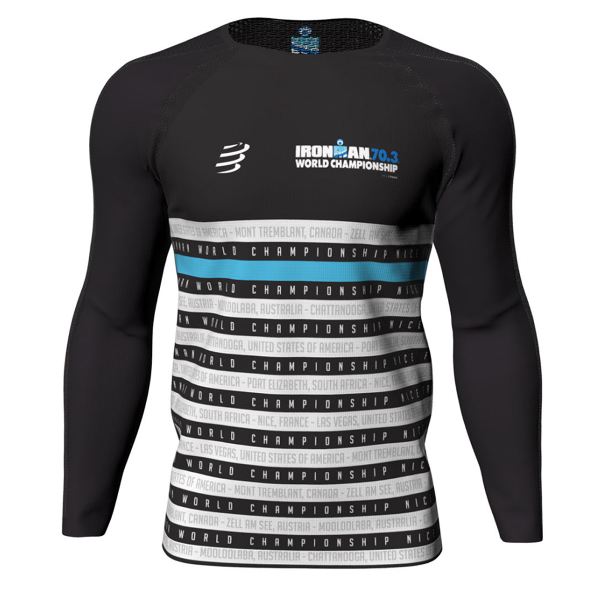 IRONMAN 70.3 WORLD CHAMPIONSHIP 2019 MEN'S LONG SLEEVE EVENT PERFORMANCE TEE
