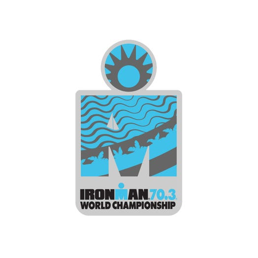 IRONMAN 70.3 WORLD CHAMPIONSHIP 2019 EVENT PIN