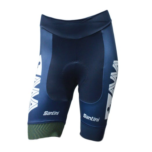 IRONMAN SANTINI WOMEN'S GOLD ALL WORLD ATHLETE CYCLE SHORT