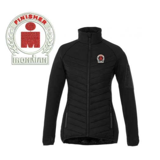 IRONMAN Women's Finisher Jacket- Black