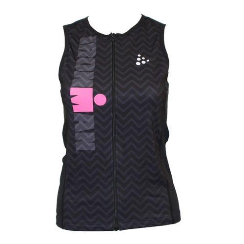IRONMAN Craft Women's Tri Top-Black/Pink