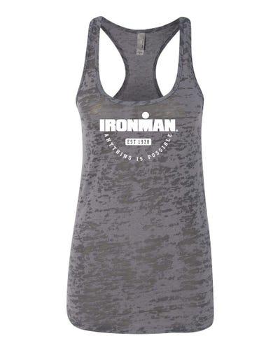 IRONMAN Women's Burnout Tank