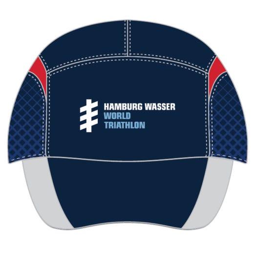 HAMBURG WASSER WORLD TRIATHLON EVENT TECH HAT