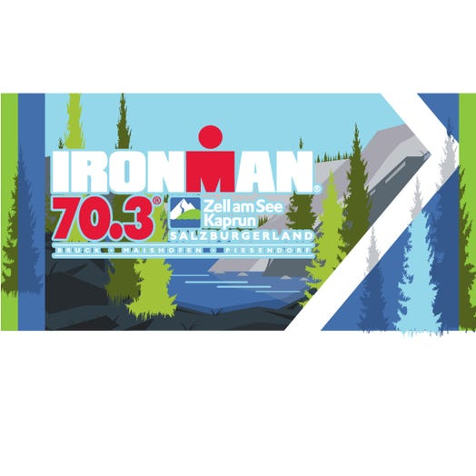 IRONMAN 70.3 Zell am See-Kaprun 2019 Event Beach Towel