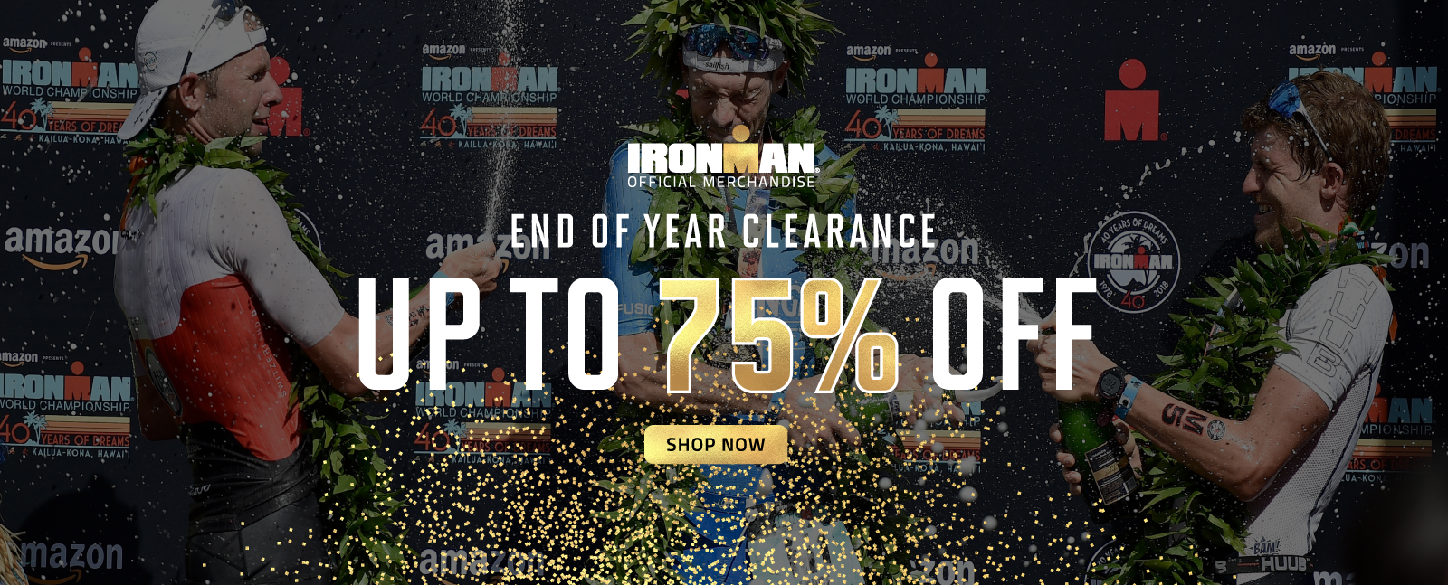 END OF YEAR CLEARANCE UP TO 75% OFF